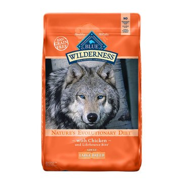 Blue Buffalo Wilderness Grain Free Large Breed Adult Dog Food
