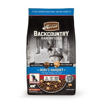 Merrick Backcountry Hero Banquet Adult Dog Food