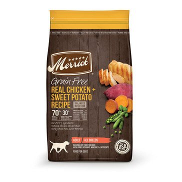 Merrick Grain Free Real Chicken & Sweet Potato Adult Dog Food