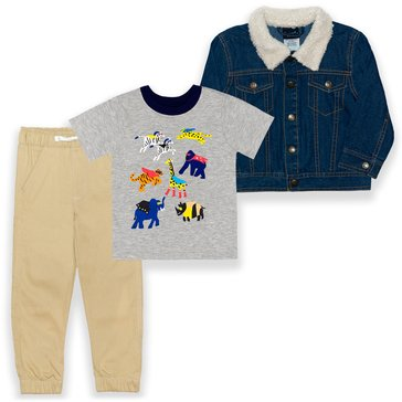 Liberty & Valor Toddler Boys' 3-Piece Jacket Set