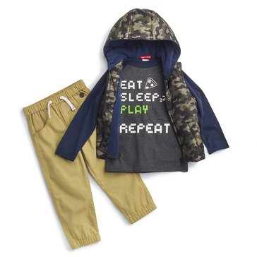 Liberty & Valor Boys' 3-Piece Jacket Set