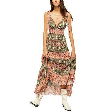 Free People Women's Let's Smock About It Dress