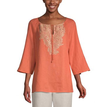 Chicos Women's Crinkle Tunic