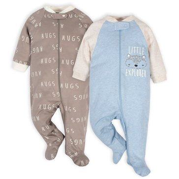 Gerber Organic Baby Boys' Sleep N Play