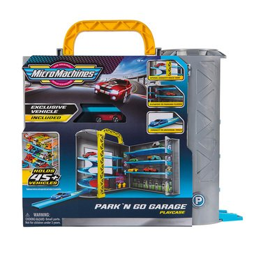 Micromachines Medium Playset Park and Race Garage Play Case