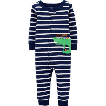Carter's Baby Boys' Long Sleeve Footless Sleepwear