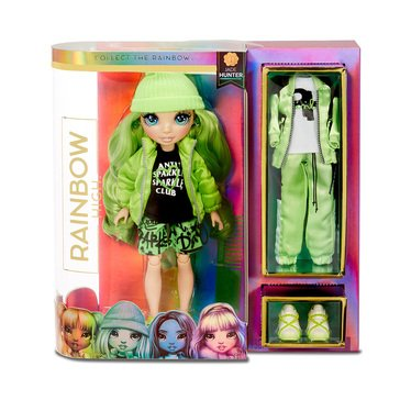 Rainbow Surprise Fashion Doll- Jade Hunter