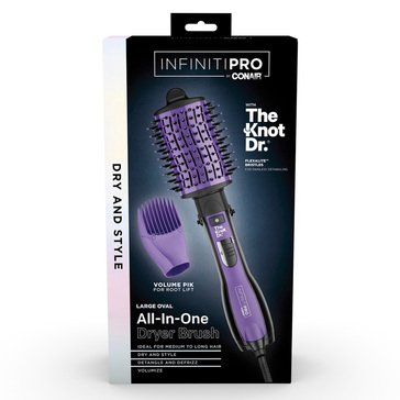 Conair Infiniti Pro The Knot Dr. Detangling Hot Air Brush