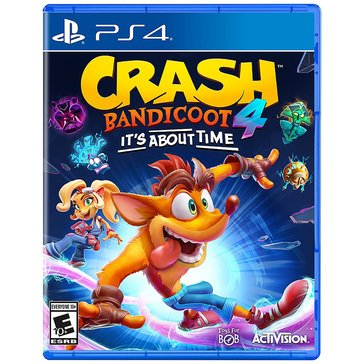 PS4 Crash Bandicoot 4: It's About Time Standard Edition