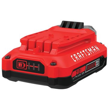 Craftsman V20 2.0 Amp-Hour Lithium Ion Battery