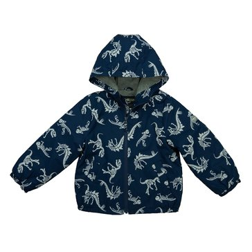 Oshkosh Baby Boy Dino Print Wet/Dry Jacket