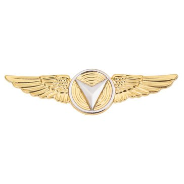 USMC Breast Badge Enlisted Unmanned Aircraft System Regular Gold