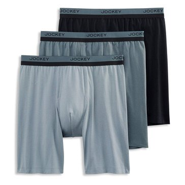 Jockey Men's Breathe Midway, 3-Pack