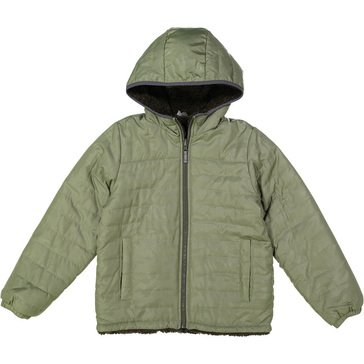 London Fog Little Boys' Midweight Teddy Fleece Lined Coat II