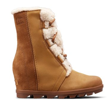 Sorel Women's Joan Of Arctic Wedge II Waterproof Lace Up Shearling Boot