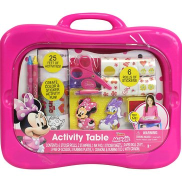 Minnie Mouse Activity Table