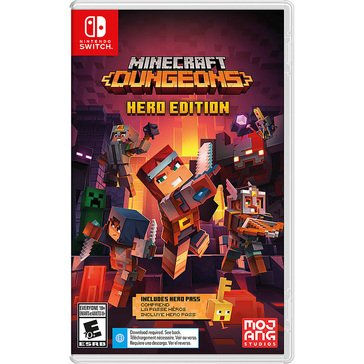 Switch Minecraft Dungeons