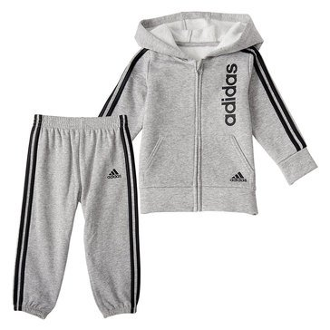 Baby Boys' Adidas Linear Fleece Jacket Set