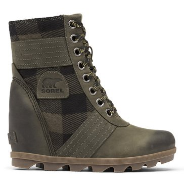 Sorel Women's Lexie Lace Up WP Felt Wedge Boot