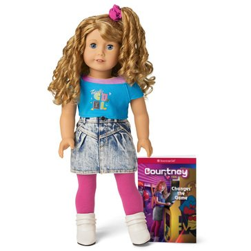 American Girl Courtney Doll & Book