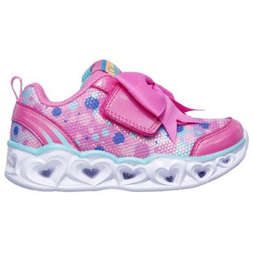 Skechers Kids Toddler Girls' Heart Lights Sparkle Spark Sneaker