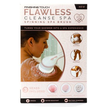 Finishing Touch Flawless Cleanse Spa Shower Wand