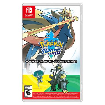 Switch Pokemon Sword: Pokemon Sword Expansion Pass