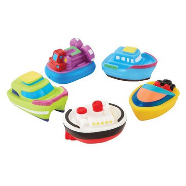 Mud Pie Boat Bath Toy Set
