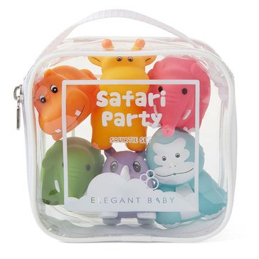 Elegant Baby Safari Party Bath Squirties