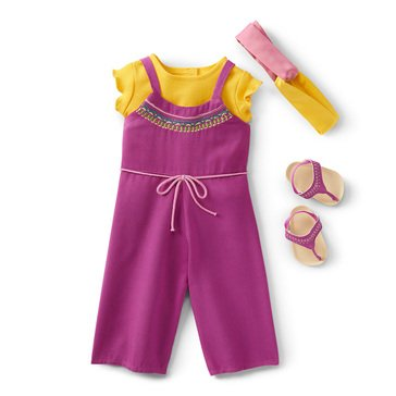 American Girl 2021 Girl of the Year Kira's Comfy Camping Outfit