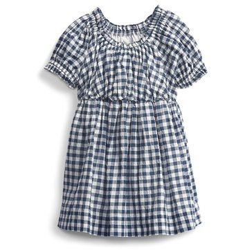 Gap Baby Girl's Gingham Printed Dress