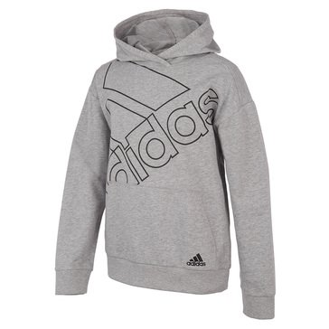 Adidas Big Boys Brand Love Hooded Pullover