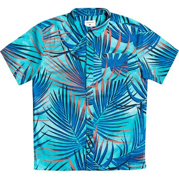 Quiksilver Youth Sub Tropic Short Sleeve Woven