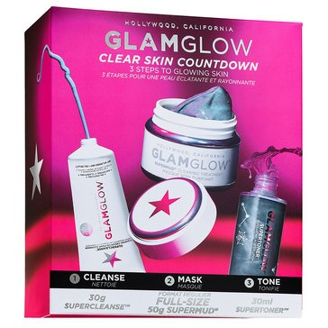 GlamGlow Clear Skin Countdown 3, 2, 1