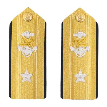 Men's Hard Boards RDML Lower (1 Star) Supply Corps
