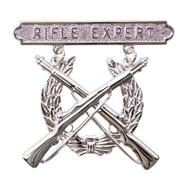 USMC Breast Badge Rifle Expert