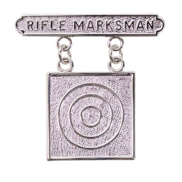 USMC Breast Badge Rifle Marksman