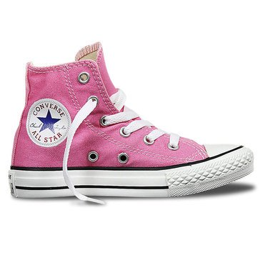 Converse Little Girl's Chuck Taylor All Star Hi Top Sneaker