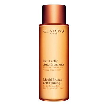 Clarins Liquid Bronze Self-Tanning For Face & Decollate