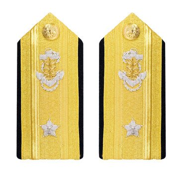 Women's Hard Boards RDML Lower (1 Star) Medical Service Corps