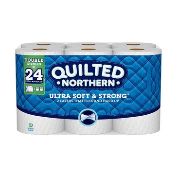 Quilted Northern Ultra Soft & Strong Bath Tissue 12 Double Rolls