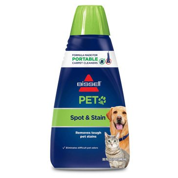 Bissell 2X Pet Stain & Odor Portable Machine Formula, 32 Oz (74R7)