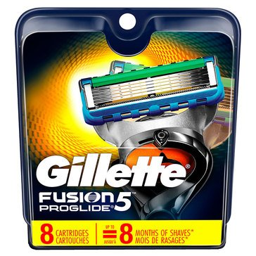 Gillette Fusion 5 Proglide 8ct Cartridges