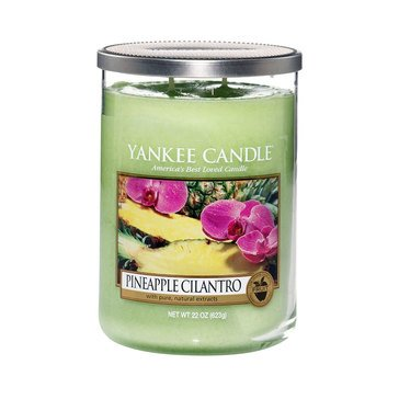 Yankee Candle Large 2-Wick Jar Candle, Pineapple Cilantro
