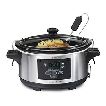 Hamilton Beach Set 'n Forget 6-Quart Programmable Slow Cooker (33969)