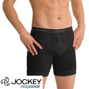 Jockey Men's Stay Cool Plus 3-Pack Midway Briefs