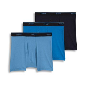 Jockey Men's Stay Cool Plus 3-Pack Boxer