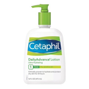 Cetaphil Daily Advance Ultra Healing Lotion 16oz