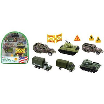 Wow Toyz Military Vehicles 10pc Backpack Playset