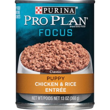 Purina Pro Plan Puppy Chicken & Rice 13 oz. Adult Wet Dog Food